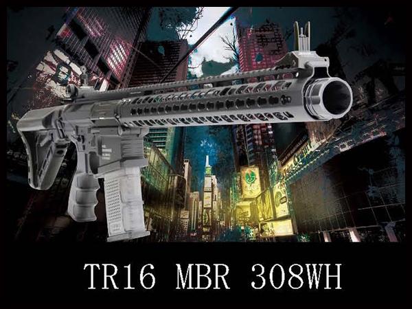 G&G:海外製電動ガン本体 TR16 MBR 308WH (G2H-016-WHH-BNB)