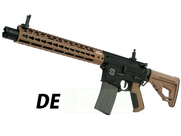 (EFCS搭載機種/チャンバーカスタム対応)ARES 海外製電動ガン本体 AMOEBA PRO M4-KM アサルトライフル 12in DE(AR-M4-KM12) エアガン 18歳以上 サバゲー 銃
