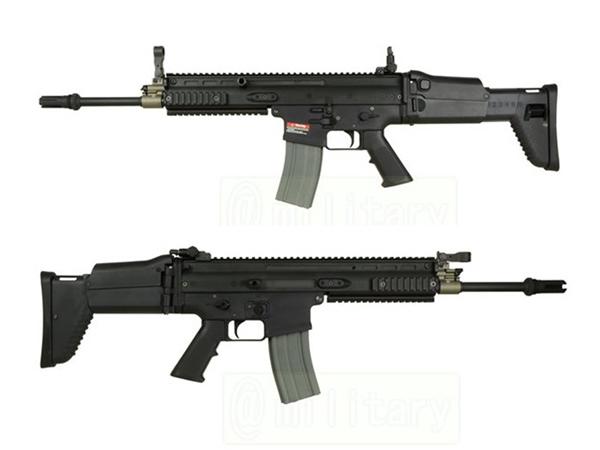 ARES 海外製電動ガン本体 SCAR-L EFCS.ver BK エアガン 18歳以上 サバゲー 銃