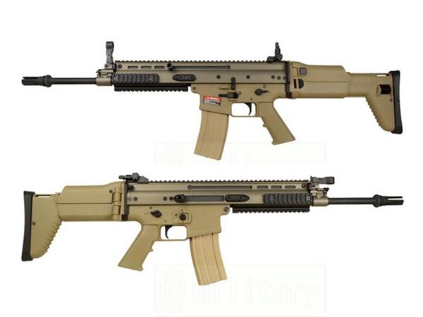ARES 海外製電動ガン本体 SCAR-L EFCS.ver DE エアガン 18歳以上 サバゲー 銃