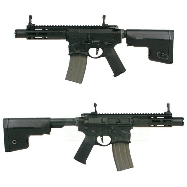 (EFCS搭載機種/チャンバーカスタム対応)ARES 海外製電動ガン本体 SharpsBros WARTHOG ショート BK エアガン 18歳以上 サバゲー 銃