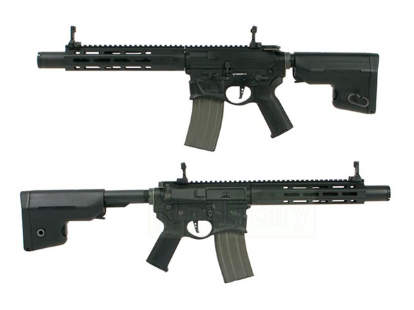 (EFCS搭載機種/チャンバーカスタム対応)ARES 海外製電動ガン本体 SharpsBros WARTHOG ミドル BK エアガン 18歳以上 サバゲー 銃