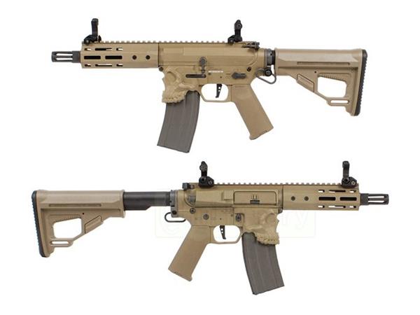 (EFCS搭載機種/チャンバーカスタム対応)ARES 海外製電動ガン本体 SharpsBros THE JACK ショート DE M4ジャック エアガン 18歳以上 サバゲー 銃