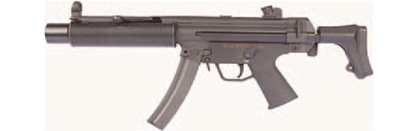 BOLT AIRSOFT:海外製電動ガン本体 MP5SD6 SHORTY(伸縮ストック)