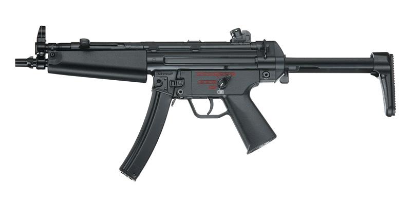 ICS:海外製電動ガン本体 MP5A5 バースト搭載モデル