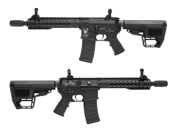KingArms:海外製電動ガン本体 M4 TWS 7インチ KeyMod CQB BK