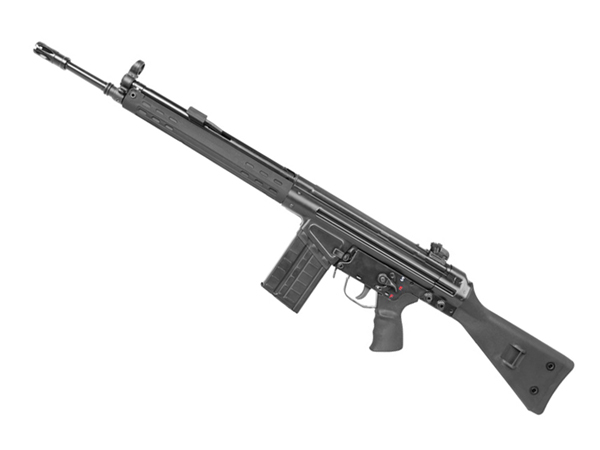 LCT 海外製電動ガン本体 lct-3a3-s-bk LCT LC-3 A3(G3A3) BK エアガン 18歳以上 サバゲー 銃