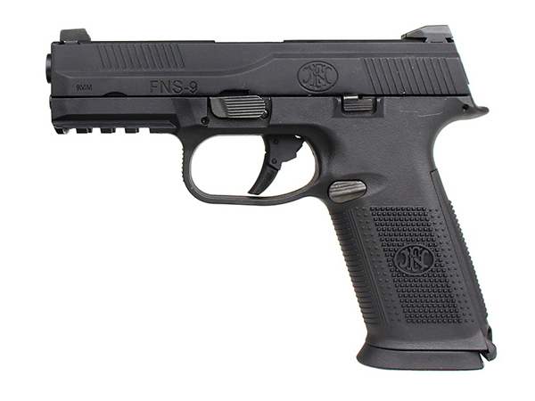 Cyber Gun 海外製ガスブローバックハンドガン本体 FNS-9 BK エアガン 18歳以上 サバゲー 銃