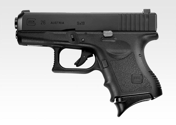 東京マルイ ガスブローバック ガスガン G26(GLOCK26/グロック26) ハンドガン ガスブローバックガン本体 エアガン 18歳以上 サバゲー 銃