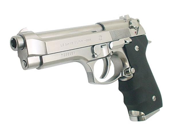 東京マルイ ガスブローバック ガスガン Beretta M92F クロームステンレス(4952839142122) SV/ベレッタ ハンドガン ガスブローバックガン本体 エアガン 18歳以上 サバゲー 銃