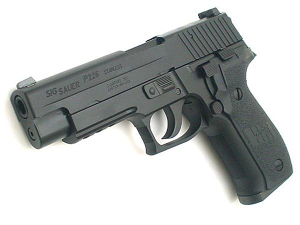 東京マルイ:ガスブローバックハンドガン本体 SIG P226 RAIL(P226R)