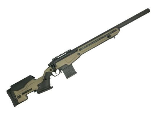 ACTION ARMY 海外製エアコッキングガン本体 AAC T10(Tactical 10) FDE ボルトアクションライフル スナイパーライフル エアガン 18歳以上 サバゲー 銃