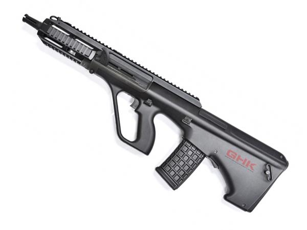 GHK ガスブローバック ライフル AUG TACTICAL エアガン 18歳以上 サバゲー 銃