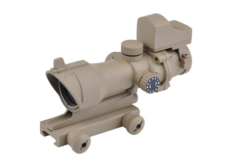 ELEMENT 光学機器 スコープ ACOGタイプ 4倍固定倍率 ドクタータイプサイトセット DE M4 416