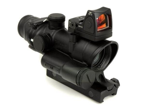 ノーブランド:光学機器 TA02 タイプ4倍率固定スコープ w/RMRコンボ BKM4416