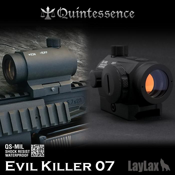 LAYLAX・Quintessence (クインテスセンス) 光学機器 ダットサイト「Evil Killer 07」(イビルキラー) ライラクス ドットサイト T1タイプ