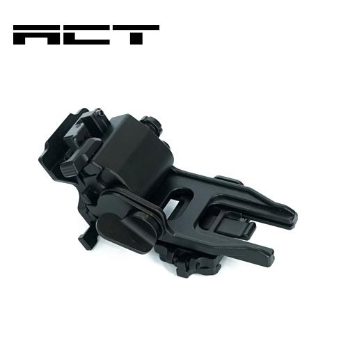 ACT 実物光学機器オプション Low Profile Mount - Bayonet ナイトビジョンマウント暗視装置 暗視ゴーグル Norots L4G24 Rhino