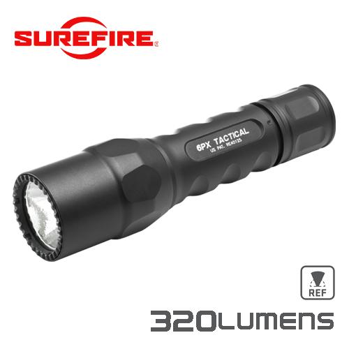 実物・正規代理店 SUREFIRE (シュアファイア) 光学機器 フラッシュライト 6PX TACTICAL BK 320LU
