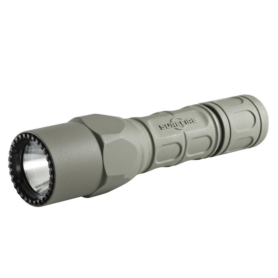 実物・正規代理店 SUREFIRE (シュアファイア) 光学機器 フラッシュライト G2X PRO Dual Output LED 15/320ルーメン クリックスイッチ FG(G2X-D-FG)