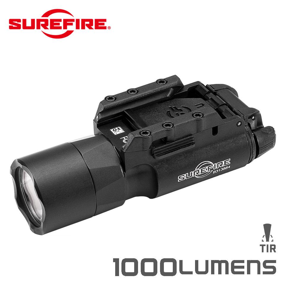 実物・正規代理店 SUREFIRE (シュアファイア) 光学機器 フラッシュライト X300U-A ULTRA WEAPON LIGHT 1000ルーメン BK (X300U-A) ウェポンライト