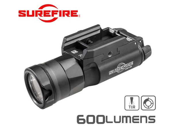 実物・正規代理店 SUREFIRE (シュアファイア) 光学機器 フラッシュライト X300UH-B ウルトラハイアウトプット LEDウェポンライト 600ルーメン
