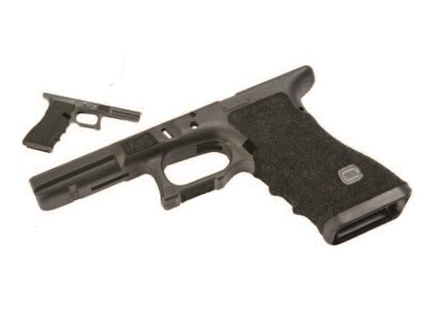 GunsModify (ガンズモディファイ) マルイG17(GLOCK/グロック) ZEV TECH カスタムフレーム スティップリングあり(gm0307)