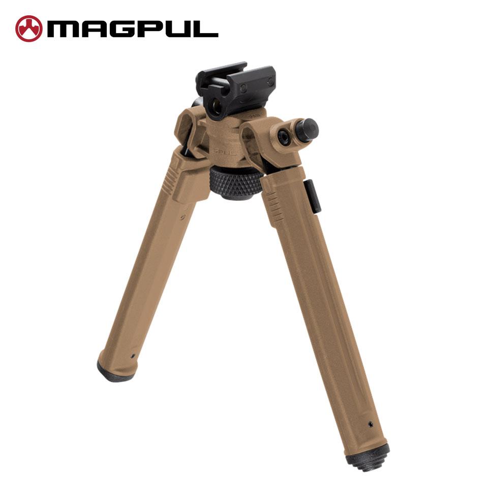 MAGPUL(マグプル) 実物 バイポッド(Bipod) for 20mmレイル (1913 Picatinny Rail) FDE (MA558490307)