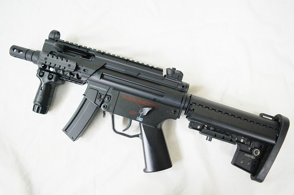 【中古】JG(JingGong) 電動ガン MP5K (JG206T)
