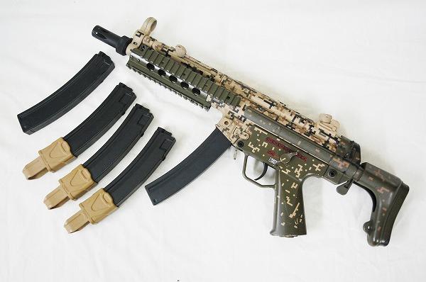 【中古】CYMA 電動ガン MP5 個人塗装カスタム品