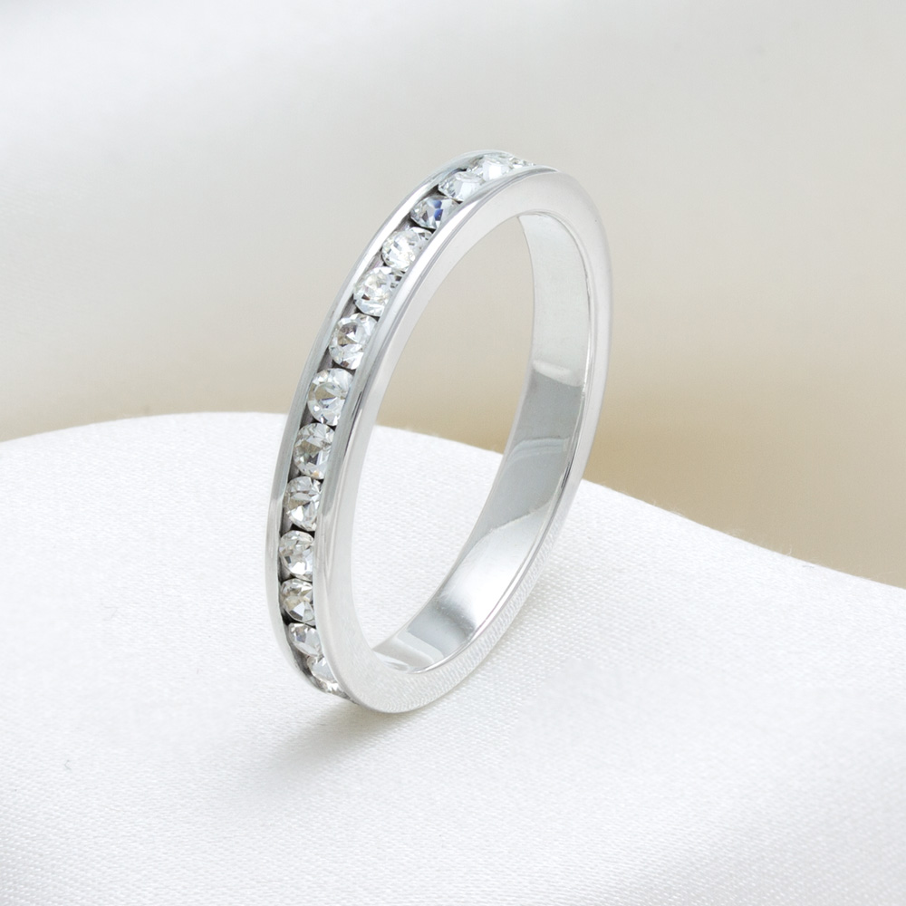 fromny eternity rings simple flu eternity band rings jewelry