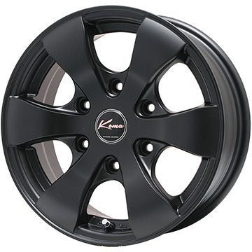 【送料無料 NV350キャラバン用】 MICHELIN ミシュラン アジリスX-ICE(限定) 195/80R15 15インチ スタッドレスタイヤ ホイール4本セット 5ZIGEN KOMA3 Limited 6J 6.00-15