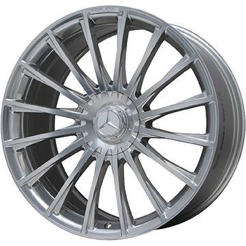タイヤはフジ 送料無料 ベンツSクラス(W222/C217) AMG メッシュスポーク F:8.50-20 R:9.50-20 MICHELIN パイロット スーパースポーツ F:245/40R20 R:275/35R20 サマータイヤ ホイール4本セット 輸入車