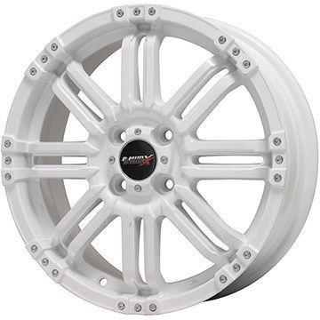 【送料無料 クロスビー/イグニス用】 FALKEN ファルケン エスピア W-ACE 175/60R16 16インチ スタッドレスタイヤ ホイール4本セット BIGWAY B-MUD X(ホワイト) 5.5J 5.50-16