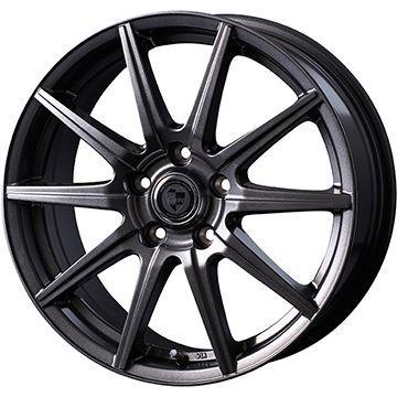 保障できる タイヤはフジ 送料無料 INTER MILANO インターミラノ クレール GS10J 6.5J 6.50-16 DUNLOP ルマン V(ファイブ) 215/60R16 16インチ サマータイヤ ホイール4本セット, Mieb(ミーブ) シューズ dcbefe43