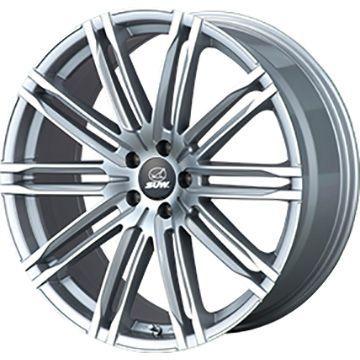 タイヤはフジ 送料無料 CLIMATE SUW エクスカリバー限定 8J 8.00-19 YOKOHAMA ジオランダー SUV G055 225/55R19 19インチ サマータイヤ ホイール4本セット