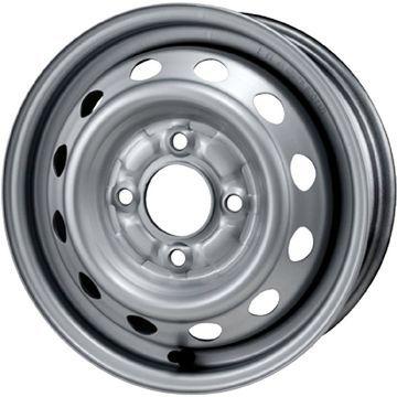 タイヤはフジ 送料無料 ELBE エルベ オリジナル スチール020 4J 4.00-13 KENDA コメットプラス KR23 155/65R13 13インチ サマータイヤ ホイール4本セット