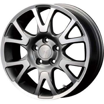 タイヤはフジ 送料無料 ボルボ(V40) ENCO EXCLUSIVE エルツ限定 6.5J 6.50-16 KINGSTAR キングスター SK10(限定) 205/55R16 16インチ サマータイヤ ホイール4本セット 輸入車