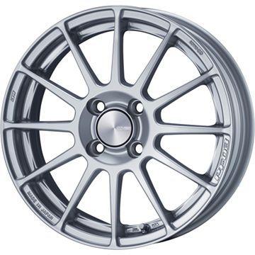 タイヤはフジ 送料無料 ENKEI エンケイ PF03 5J 5.00-15 INTERSTATE インターステート ECOツアープラス(限定) 165/55R15 15インチ サマータイヤ ホイール4本セット