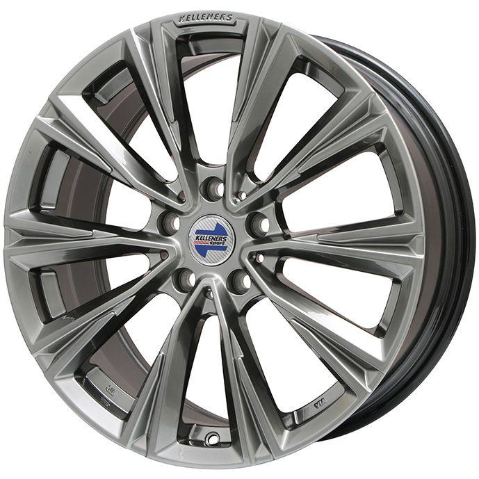【送料無料 BMW X5(G05)】 BRIDGESTONE ブリザック DM-V2 275/45R20 20インチ スタッドレスタイヤ ホイール4本セット KELLENERS ケレナーズスポーツ X-LINE(クロームハイパーブラック) 9J 9.00-20