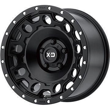 【取付対象】【送料無料】 265/60R18 18インチ KMC XDシリーズ XD129 ホールショット 9J 9.00-18 BFG BFグッドリッチ マッドテレーンT/A KM3 サマータイヤ ホイール4本セット