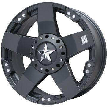 タイヤはフジ 送料無料 KMC XDシリーズ XD775 ロックスター 8.5J 8.50-20 YOKOHAMA PARADA Spec-X 285/50R20 20インチ サマータイヤ ホイール4本セット