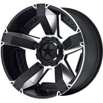 【取付対象】【送料無料】 285/60R18 18インチ KMC XDシリーズ XD811 ROCKSTAR2 9J 9.00-18 NITTO ニットー TERRA GRAPPLER サマータイヤ ホイール4本セット
