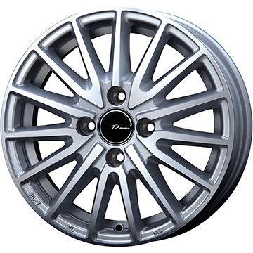 タイヤはフジ 送料無料 KOSEI コーセイ プラウザー アシュラ 4.5J 4.50-14 YOKOHAMA DNA Sドライブ 165/55R14 14インチ サマータイヤ ホイール4本セット