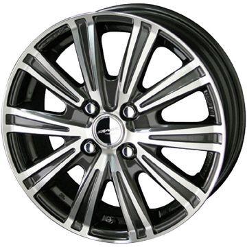タイヤはフジ 送料無料 KYOHO 共豊 スマック スパロー 4J 4.00-13 155/65R13 13インチ MICHELIN エナジー セイバー サマータイヤ ホイール4本セット