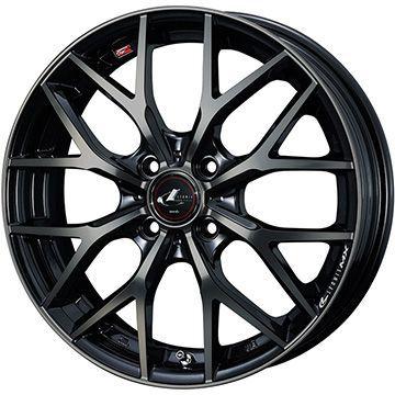 【送料無料】 155/65R14 14インチ WEDS レオニス MX 4.5J 4.50-14 MARSHAL マーシャル MH12(限定) サマータイヤ ホイール4本セット
