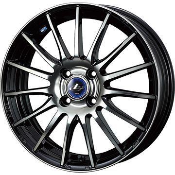 タイヤはフジ 送料無料 WEDS ウェッズ レオニス NAVIA 05 5J 5.00-16 YOKOHAMA DNA Sドライブ 165/40R16 16インチ サマータイヤ ホイール4本セット