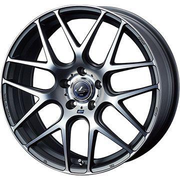 タイヤはフジ 送料無料 WEDS ウェッズ レオニス NAVIA 06 8J 8.00-18 FALKEN アゼニス FK510 SUV 235/65R18 18インチ サマータイヤ ホイール4本セット