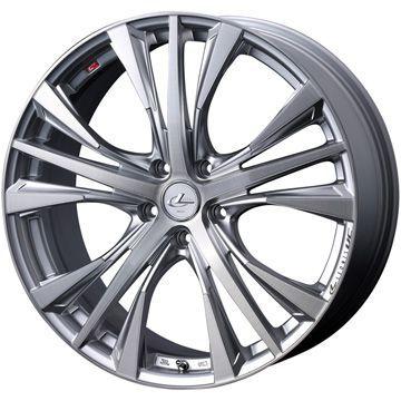 タイヤはフジ 送料無料 WEDS ウェッズ レオニス UC限定 8J 8.00-19 FALKEN アゼニス FK510 SUV 225/55R19 19インチ サマータイヤ ホイール4本セット
