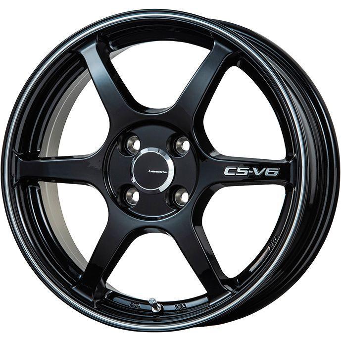 送料無料 165 60R15 15インチ DELINTE デリンテ AW5 オールシーズン 限定 オールシーズンタイヤ CS-V6 ホイール4本セット 取付対象 豪華な グロスブラック レアマイスター ラインポリッシュ 値下げ 5.00-15 LEHRMEISTER 5J