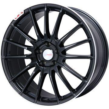 タイヤはフジ 送料無料 LEHRMEISTER LM-S トレント15 (ブラック/リムポリッシュ) 7.5J 7.50-18 INTERSTATE インターステート ECOツアープラス(限定) 215/45R18 18インチ サマータイヤ ホイール4本セット
